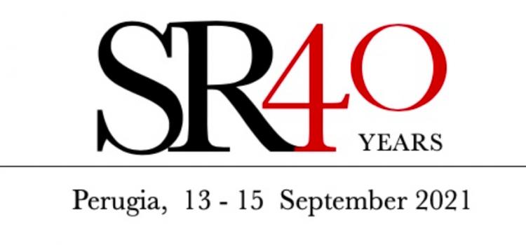 International conference SR40 just ended